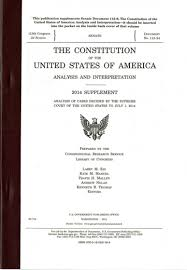 the constitution of the united states of america analysis and