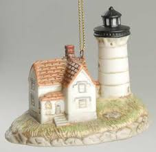 lefton porcelain lighthouse ornaments at replacements ltd