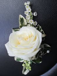 wedding flowers leeds of the valley corsage of the valley buttonhole ivory