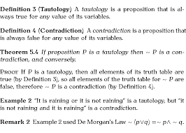 Truth Table Definition 4 7 2 The Ntheorem Package