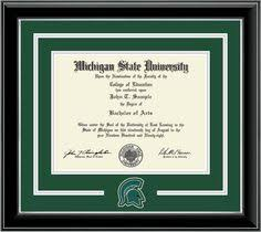 michigan state diploma frame northern kentucky spirit diploma frame products