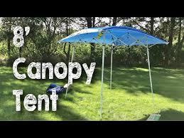 Instant Shade Awning 8 U0027 X 8 U0027 Evo Shade Instant Canopy Sunshade Tent By Caravan Canopy