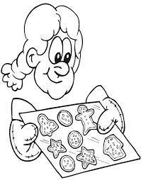 christmas cookies coloring fresh baked cookies
