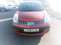 nissan note 2006 reduced price excellent nissan note 2006 1 4 petrol 69k miles