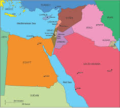 middle east map ppt usa county world globe editable powerpoint maps for sales and