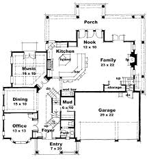 modern home design floor plans in contemporary home plan ch168