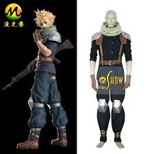 Cloud Strife Halloween Costume Aliexpress Buy Free Shipping Final Fantasy Vii 7 Crisis Core
