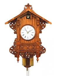 Wood Clock Designs by Furniture Exclusive Cuckoo Clock In Brown Made Of Wood With