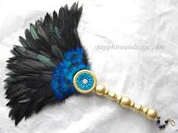 feather fan feather fans and hat pins sapphire renaissance jewelry