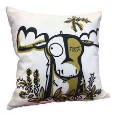 Moose Themed Home Decor by Bear Fox Husky Moose Raccoon U0026 Squirrel Pillows For Cabin