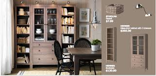 Cabinet Dining Room Ikea Hemnes Office Solution House Home Pinterest Hemnes