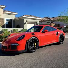 koenigsegg ultegra porsche 991 gt3 rs painted in lava orange photo taken by