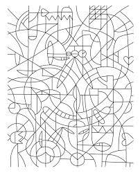 abstract mosaic coloring download u0026 print coloring
