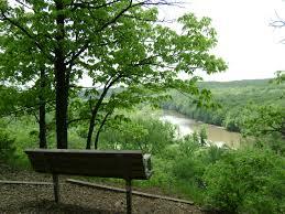 Park Bench Scene Park Trails Missouri State Parks