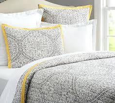 Pottery Barn Comforters Yellow And Gray Quilts U2013 Co Nnect Me