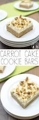carrot cake cookie bars like mother like daughter