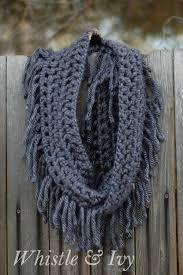 simple pattern crochet scarf make a simple chunky fringe crochet scarf skip to my lou
