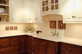 white cabinets brown lower cabinets in kitchen white vs wood cabinets kitchens forum gardenweb