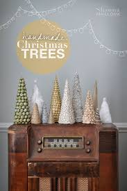 handmade christmas trees pt 1 beautiful matters