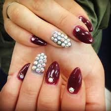 24 dark red nail art designs ideas design trends premium