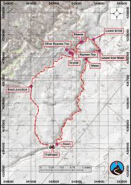 Bryce Canyon Map Pdf Hiking Lower Iron Wash And Ernie Canyon Eastern Reef Road Trip