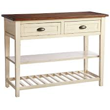 kitchen island buffet carmichael antique ivory buffet table pier 1 imports