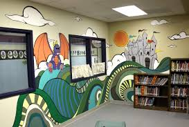 awesome outdoor school murals google search school yard school mural idea for library