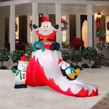 Blow Up Christmas Decorations On Roof fun outdoor inflatable christmas decorations christmas gift