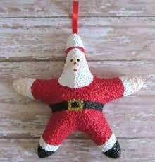 decor starfish snowman ornament