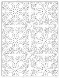 home pattern coloring pages printable design pattern coloring
