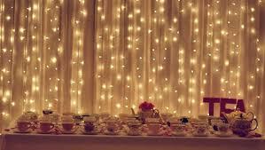 diy curtain lights