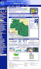 Phoenix Radar Map by Past Links For Metr 356 Fall 2014