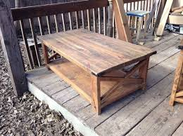 Small End Table Plans Free by Coffee Table Rustic Coffee And End Tables Amazing Plans Free