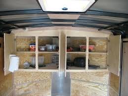 v nose enclosed trailer cabinets aluminum v nose trailer cabinets spark vg info
