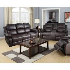 Leather Recliner Sofa Set Deals Radiovannes Leather Sofa Ideas
