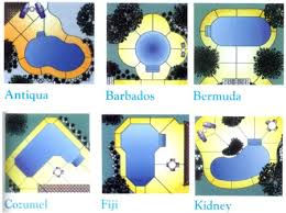 pool shapes and sizes swimming pool sizes costs designs financing plan custom