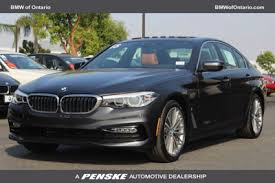 bmw 5 series for sale ontario 2018 used bmw 5 series 530e iperformance in hybrid sedan for