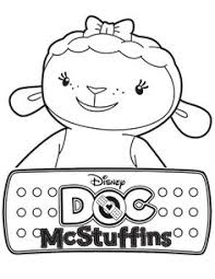 doc mcstuffins coloring sheet coloring pages