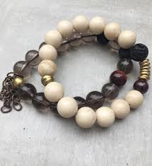 bracelet quartz images Smoky quartz bracelet set reija eden jewelry jpg