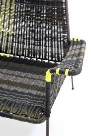 fauteuil en corde fauteuil contemporain en métal en polyester d u0027extérieur