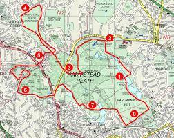 Map My Running Route by Serpentine Running Club Running Hampstead Heath