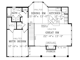 craftsman style house plan 1 beds 1 00 baths 1029 sq ft plan 456 12
