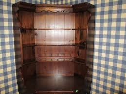 Ethan Allen Bookshelf Ethan Allen Antique Old Tavern Pine Custom Room Plan Corner