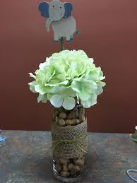 Centerpieces For Baby Shower by Baby Shower Elephant Theme Centerpieces Baby Shower Elephant