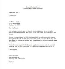 examples business letter choice image letter examples ideas