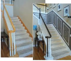 Oak Banisters And Handrails The Staircase Reveal Part One Centsational Style