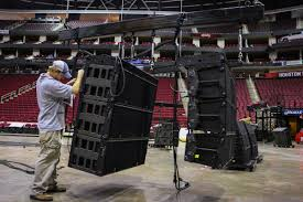 toyota center ld systems sound system installation for toyota center houston