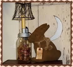 rabbit home decor primitive bunny rabbit spring home decor decorations