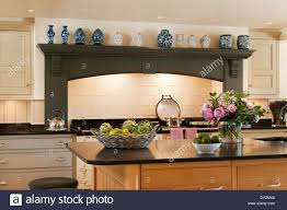 interiors kitchen island unit stock photos u0026 interiors kitchen