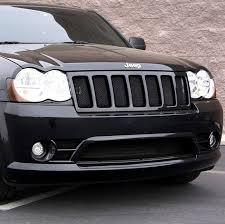 jeep grand srt8 wire mesh grille and lower grille